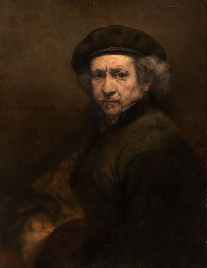 Rembrandt, Zelfportret, 1659, olieverf op doek, 84.5 x 66 cm, National Gallery of Art, Washington