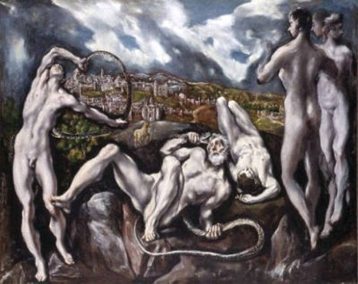El Greco (1541-1614), Laocoön, ca. 1610, olieverf op doek, 193 x 142 cm, National Gallery, Washington D.C.