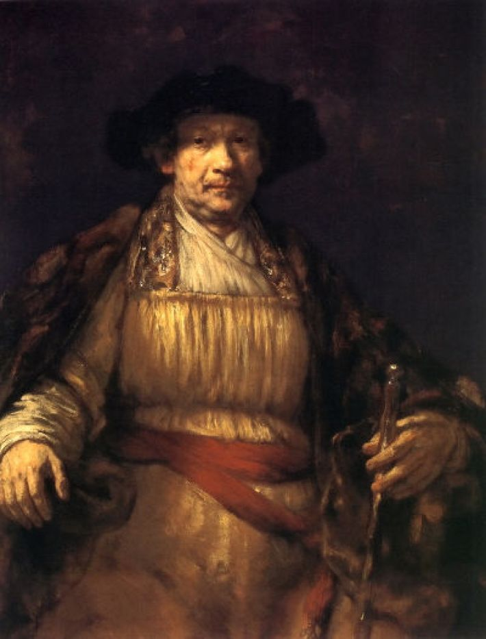 Rembrandt, Zelfportret, 1658, olieverf op doek, 133.7 x 103.8 cm, The Frick Collection, New York