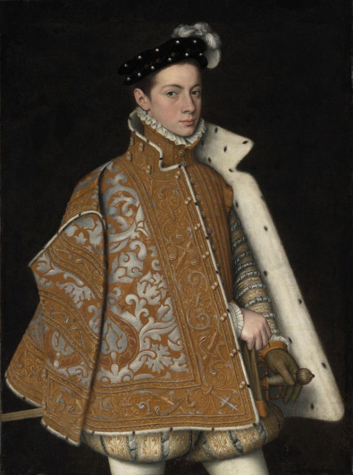 Sofonisba Anguissola, Portret van prins Alessandro Farnese, ca. 1560, olieverf op doek, 107 x 79 cm, National Gallery of Ireland, Dublin