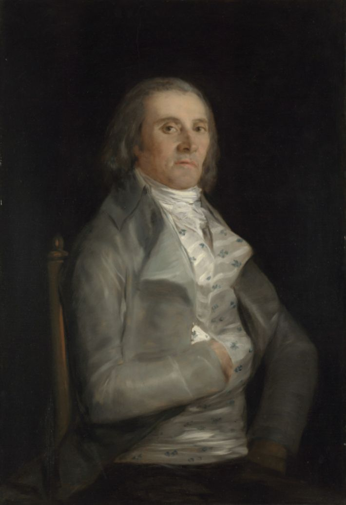 Francisco Goya (1746-1828), Don Andrés del Peral, voor 1798, olieverf op populierenhout, 95 x 65.7 cm, National Gallery, Londen