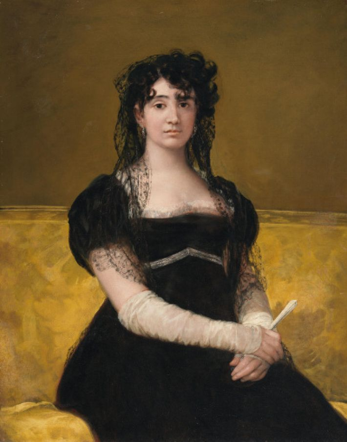Francisco Goya, Portret van Doña Antonia Zárate, ca. 1805, olieverf op doek, 103.5 x 82 cm, National Gallery of Ireland, Dublin