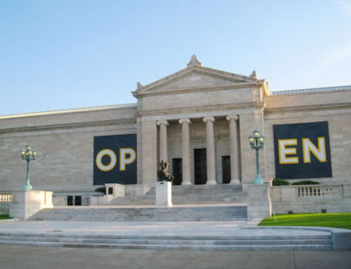 The Cleveland Museum of Art, ingang oude vleugel (foto: Daderot)