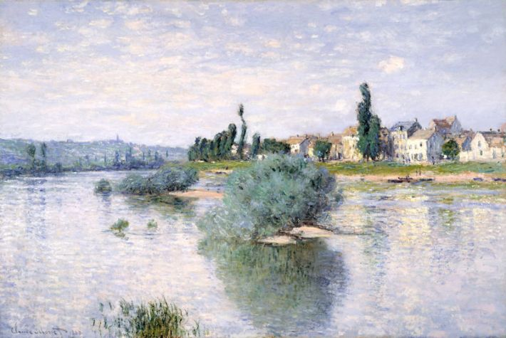 Claude Monet (1840-1926), De Seine bij Lavacourt, 1880, 98.4 x 149.2 cm, Dallas Museum of Art, Dallas, Texas