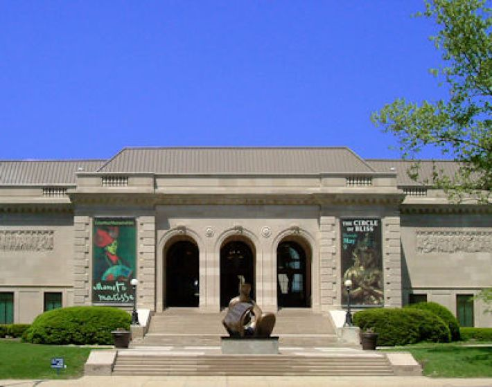 Het Columbus Museum of Art in Columbus, Ohio