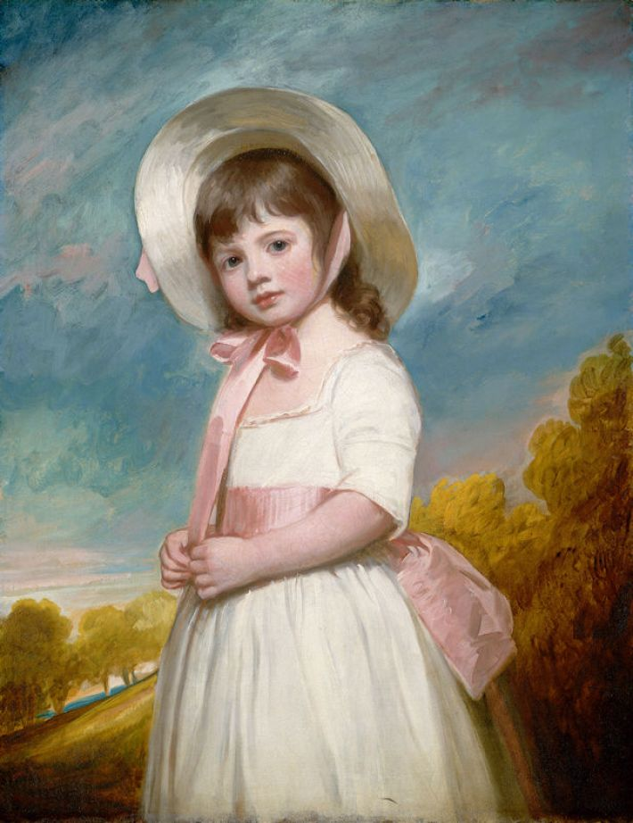 George Romney, (1734-1802), Miss Juliana Willoughby, 1781-83, olieverf op doek, 92.1 x 71.5 cm, National Gallery of Art, Washington DC