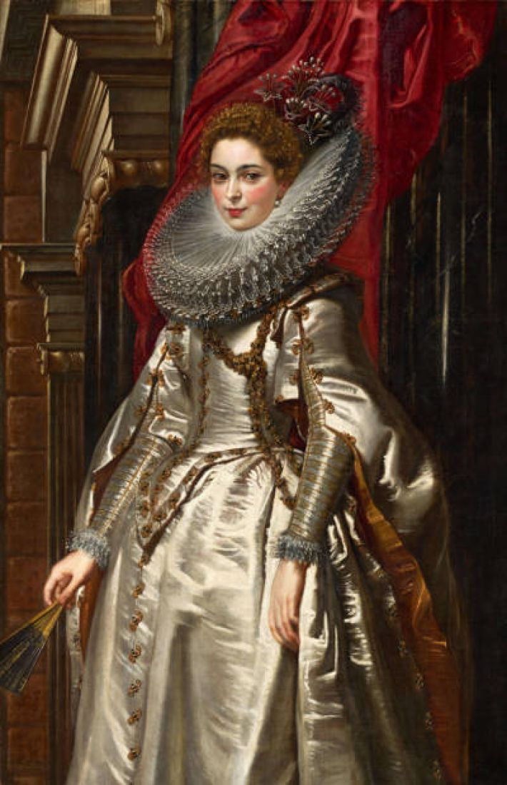 Peter Paul Rubens, Marchesa Brigida Spinola Doria, 1606, olieverf op doek, 152.5 x 99 cm, National Gallery of Art, Washington DC