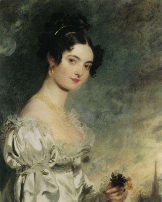 Sir Thomas Lawrence, Portret van Lady Selina Meade, 1819, olieverf op doek, 76 x 62 cm, privécollectie