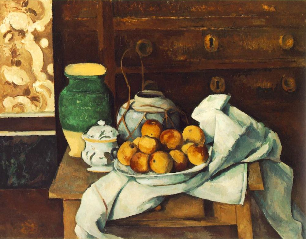 Stilleven met commode paul cézanne art salon holland