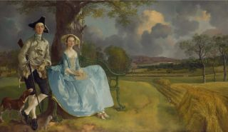 De heer en mevrouw Andrews (ca. 1750) - Thomas Gainsborough