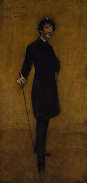 James Abbott McNeil Whistler (1885) - William Merritt Chase