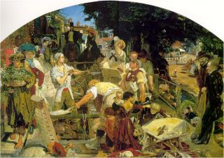 Work (1862-63) - Ford Madox Brown