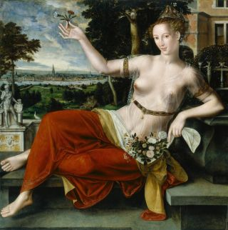 Flora (1559) - Jan Massijs