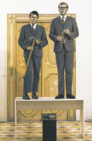 Singing sculptures (1972) – Gilbert & George