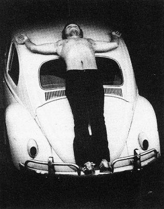 Trans-fixed (1974) - Chris Burden
