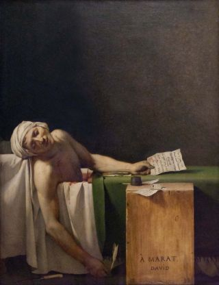 De dood van Marat (1793) – Jacques-Louis David