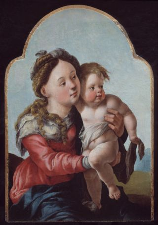 Maria met kind (ca. 1527-30) - Jan van Scorel