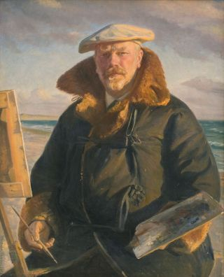 Zelfportret (1902) - Michael Ancher