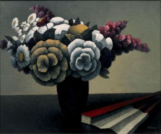 Bouquet à l'eventail (ca. 1920) - Félix Elie Tobeen