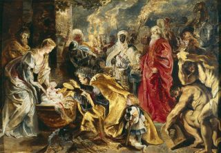 Aanbidding der koningen (1609-10) - Peter Paul Rubens