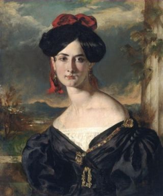 Louisa Vaughan, geboren Rolls (ca. 1853) - William Etty
