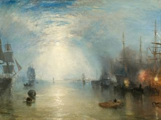 Keelmen Heaving in Coals by Moonlight (1835) - William Turner