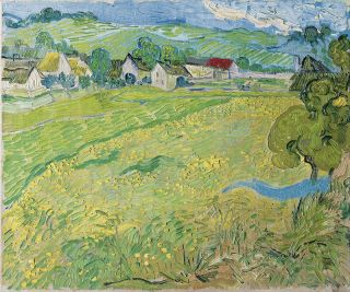 Les Vessenots in Auvers (1890) - Vincent van Gogh