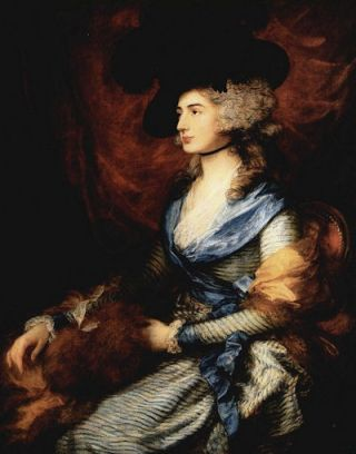 Mrs Siddons (1785) - Thomas Gainsborough