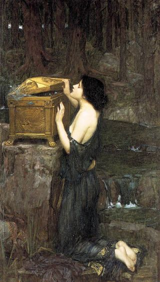 Pandora (1898) – John William Waterhouse