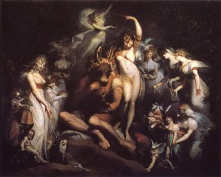 Titania and Bottom (1790) - Henry Fuseli