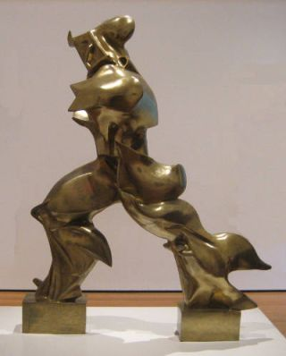 Unique Forms of Continuity in Space (1913) - Umberto Boccioni