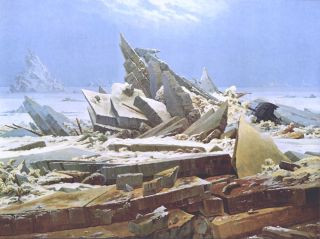 De IJszee (1823-24) - Caspar David Friedrich