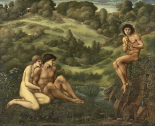 De tuin van Pan (1886-87) - Edward Burne-Jones