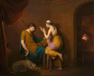 The Corinthian Maid (1782-85) - Joseph Wright of Derby